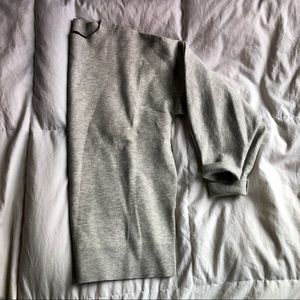 Banana Republic Fitted Crew Neck Sweatshirt